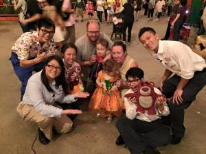 Photograph with Disney Cast Members