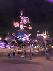 Tomorrowland at Hong Kong Disney
