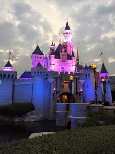 Sleeping Beauty Castle at Hong Kong Disney