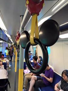 Hong kong Disneyland Line